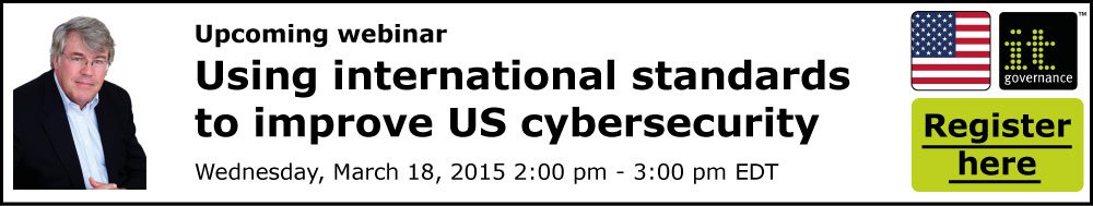 Using international standards to improve US cybersecurity
