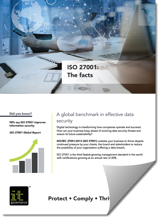 IT Governance ITO 27001 factsheet
