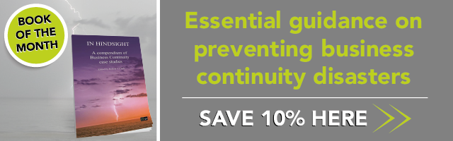 Essential guidance on preventing business continuity disasters. Save 10% in January >>