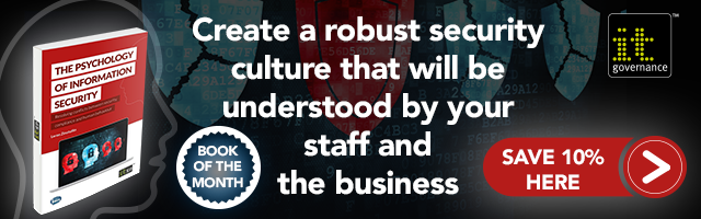 Create a robust security culture that will be understood by your staff and the business