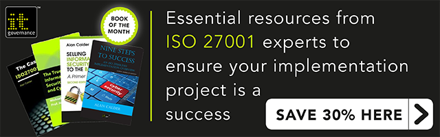 Successfully implement ISO 27001 with our book of the month bundle