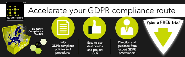 GDPR toolkit demo banner